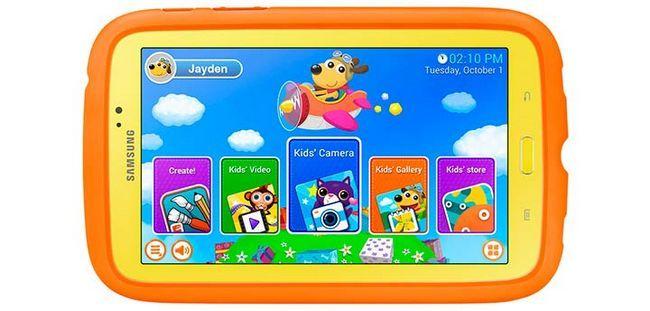 Чотири кращих планшета для дітей