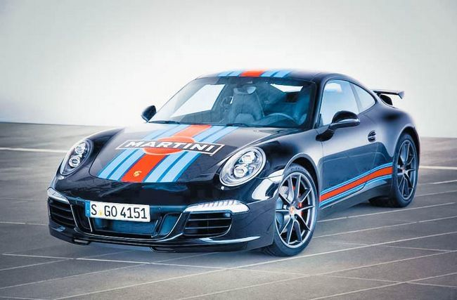 Porsche 911 Carrera S Martini Racing Edition