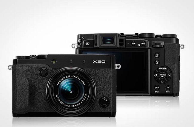Нова цифрова фотокамера fujifilm x30