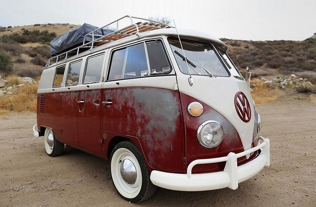 Icon Derelict VW Camper