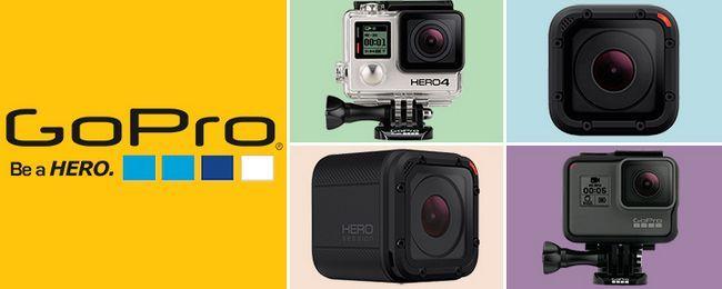 Кращі стрілялки камери GoPro 2017 року