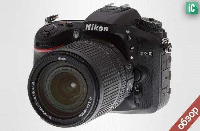 Огляд фотоапарата nikon d7200