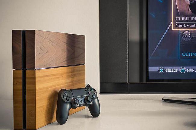 Playstation 4 в дерев`яному корпусі від balolo