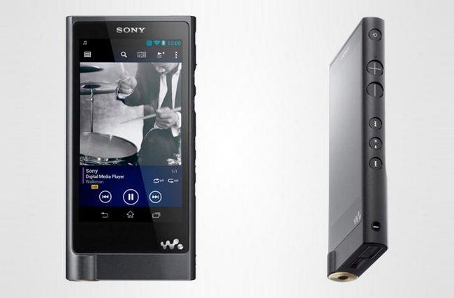 Sony zx2 walkman з високою роздільною здатністю