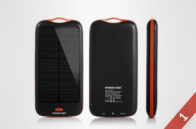 Топ 5: найкращі портативні сонячні батареї